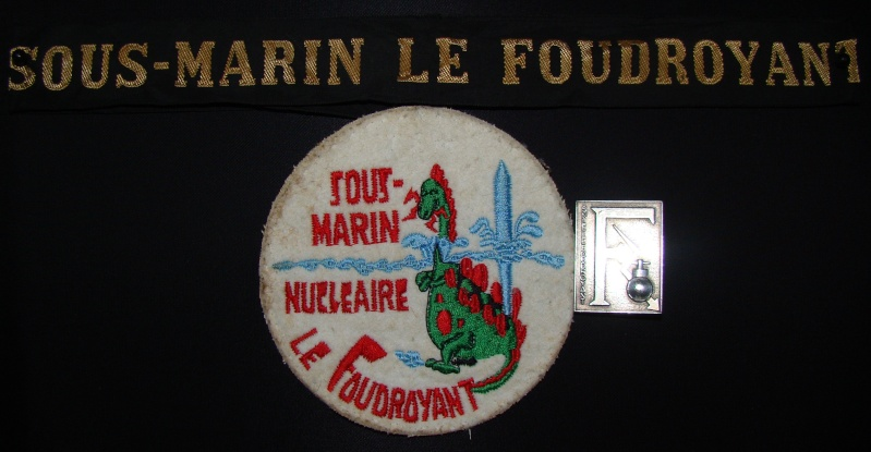 Ma collec. patchs Marine Nationale : sous-marins , cdo etc. 01510