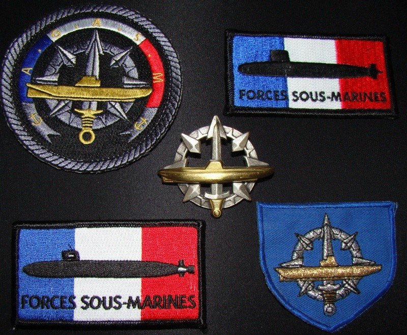 Ma collec. patchs Marine Nationale : sous-marins , cdo etc. 01610