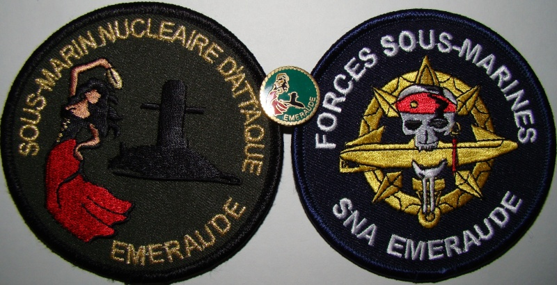 Ma collec. patchs Marine Nationale : sous-marins , cdo etc. 01810