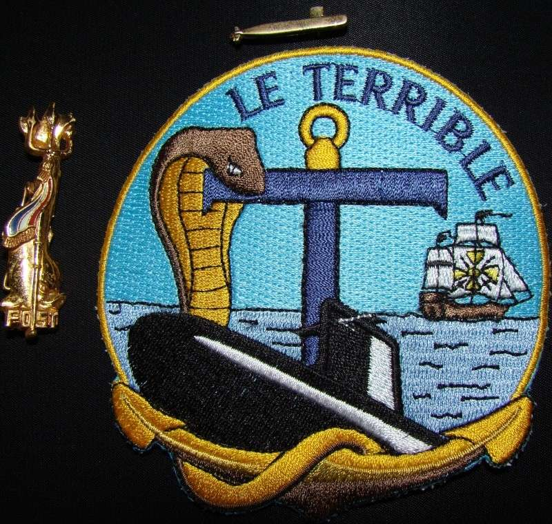 Ma collec. patchs Marine Nationale : sous-marins , cdo etc. 02010