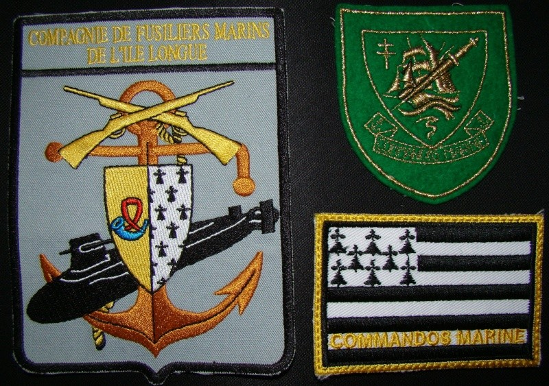 Ma collec. patchs Marine Nationale : sous-marins , cdo etc. 03310
