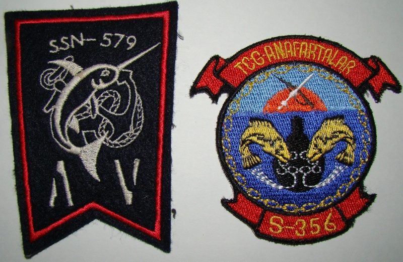 Ma collec. patchs Marine Nationale : sous-marins , cdo etc. 05011
