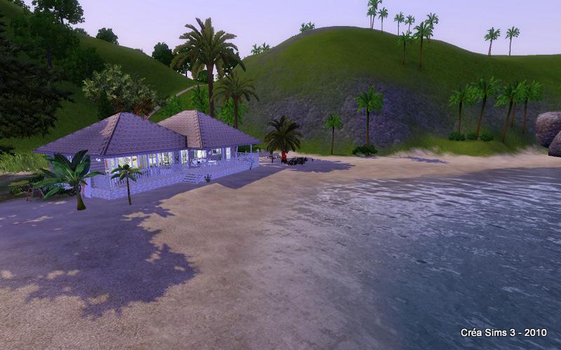 """Challenge """"Beach Cottage"""" (avec un cadeau de participation) 0210"""