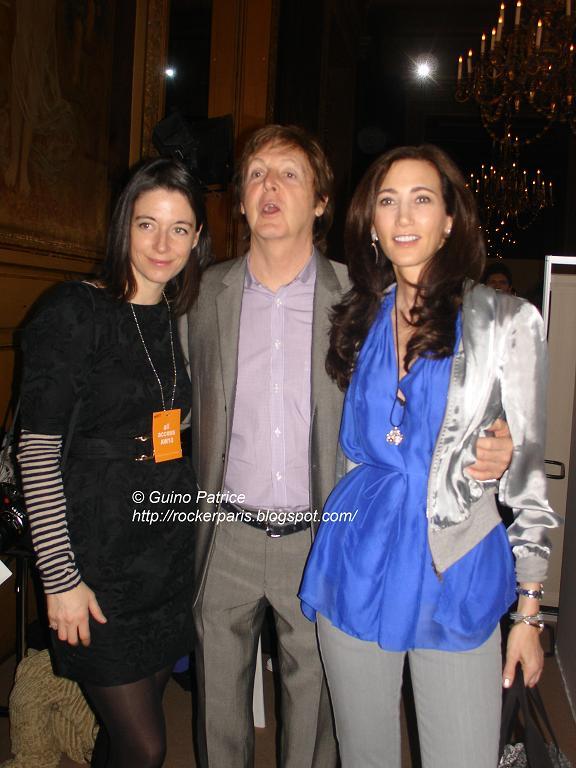 Paul à Paris pour le défilé de Stella ! Dsc08110