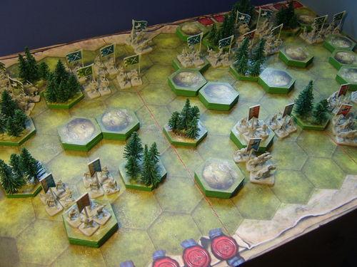Décor Battlelore, command & colors, mémoire44, ... 3d10