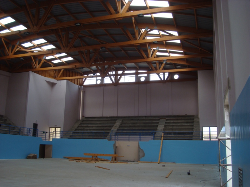 La nouvelle salle couverte d'Essaouira Dsc07610