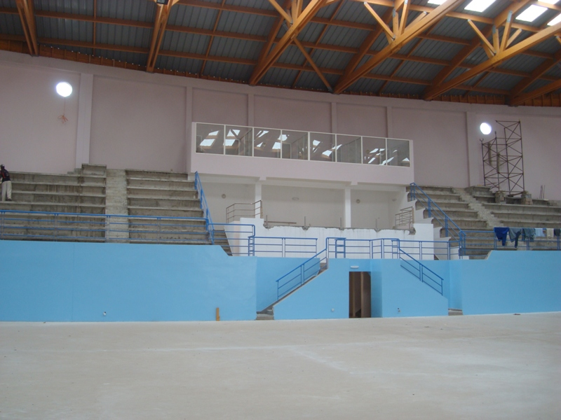 La nouvelle salle couverte d'Essaouira Dsc07611