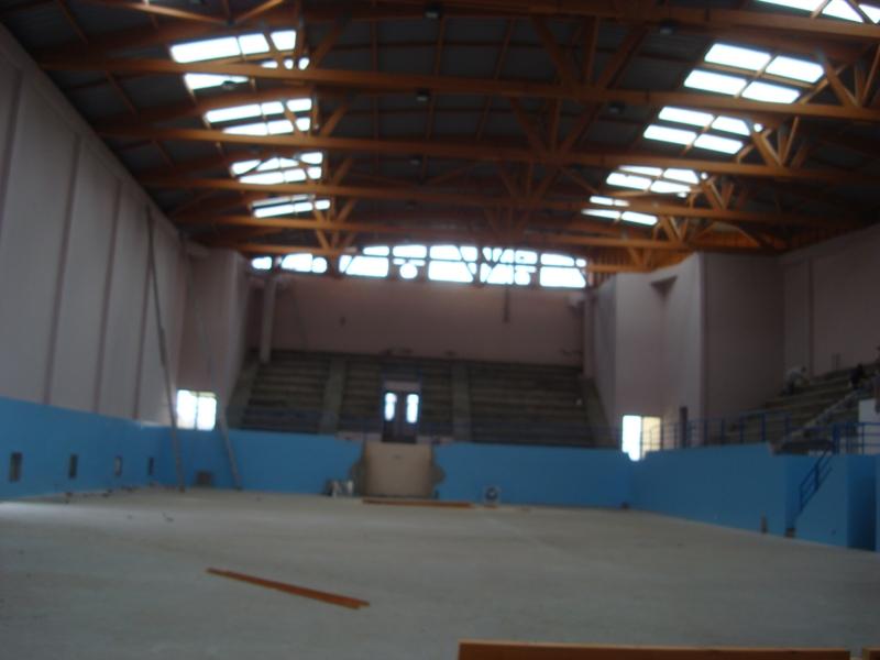 La nouvelle salle couverte d'Essaouira Dsc07614