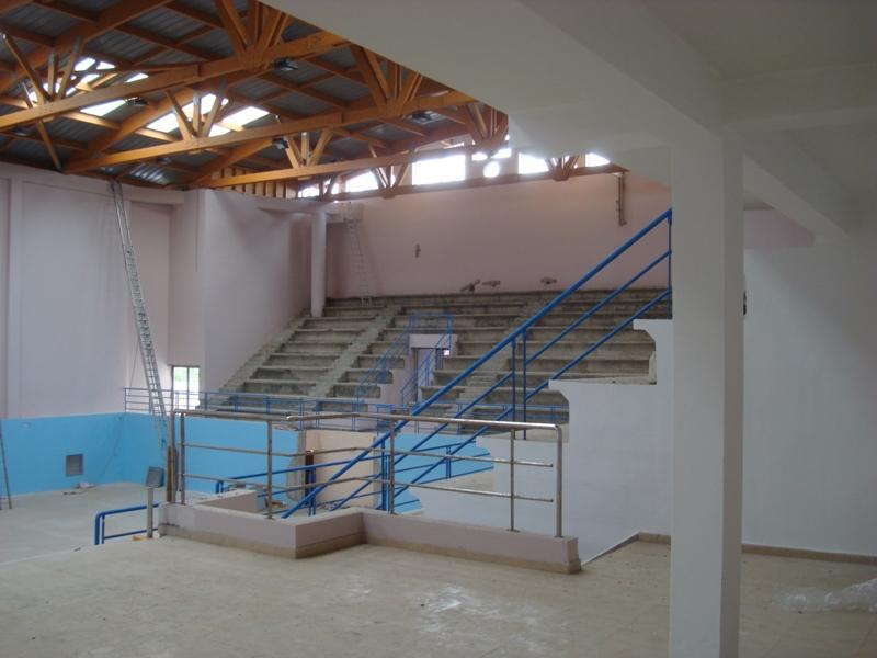 La nouvelle salle couverte d'Essaouira Dsc07617