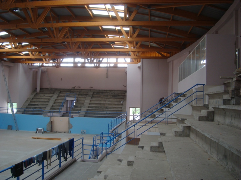 La nouvelle salle couverte d'Essaouira Dsc07629