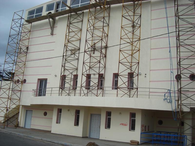 La nouvelle salle couverte d'Essaouira Dsc07634