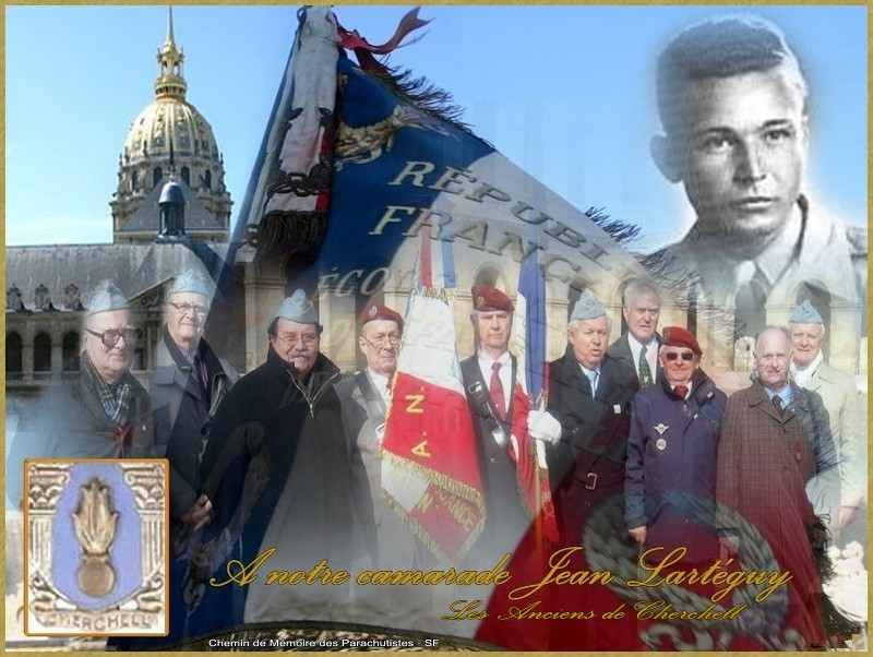 Hommage à notre camarade Jean Lartéguy...les anciens de Cherchell Lartag15