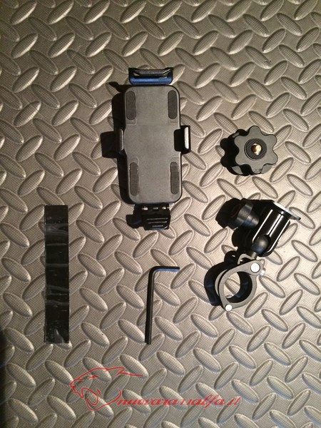 BMW K50 R1200GS LC supporto A Parts smartphone Action Cam by Max450 Max45069