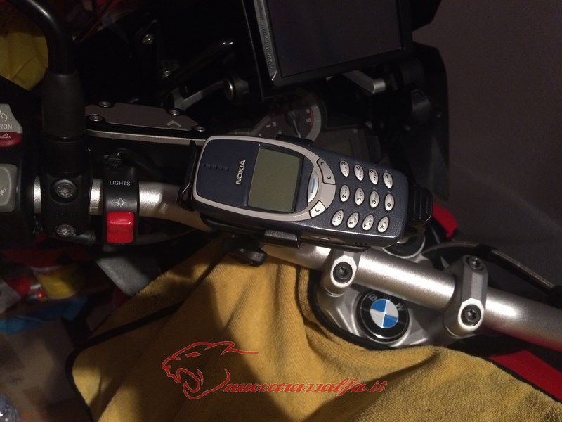 BMW K50 R1200GS LC supporto A Parts smartphone Action Cam by Max450 Max45082