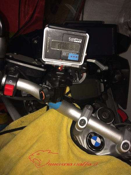 BMW K50 R1200GS LC supporto A Parts smartphone Action Cam by Max450 Max45085