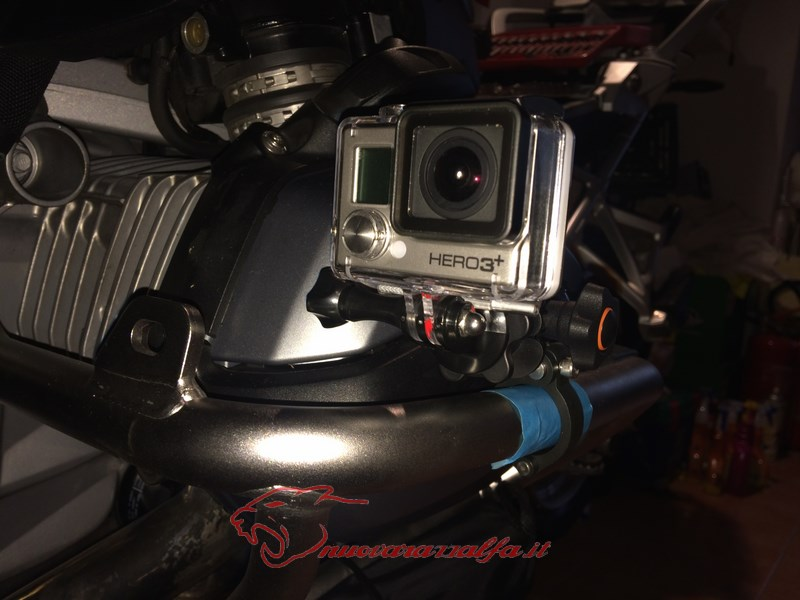 BMW K50 R1200GS LC supporto A Parts smartphone Action Cam by Max450 Max45086