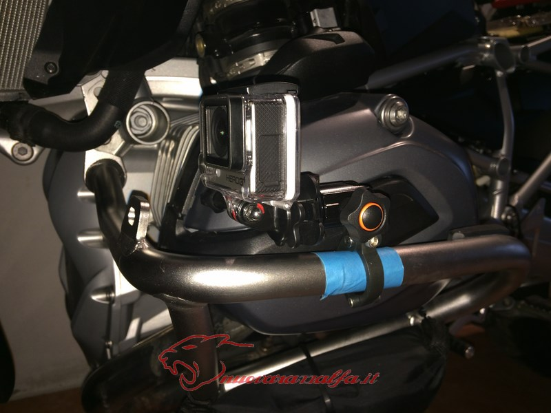 BMW K50 R1200GS LC supporto A Parts smartphone Action Cam by Max450 Max45087