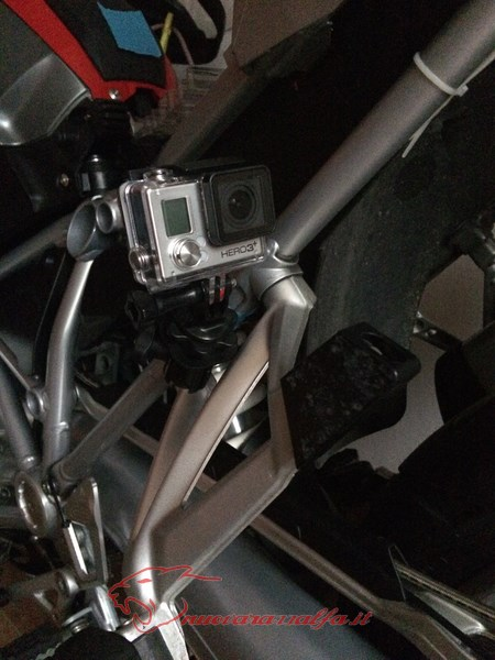 BMW K50 R1200GS LC supporto A Parts smartphone Action Cam by Max450 Max45090