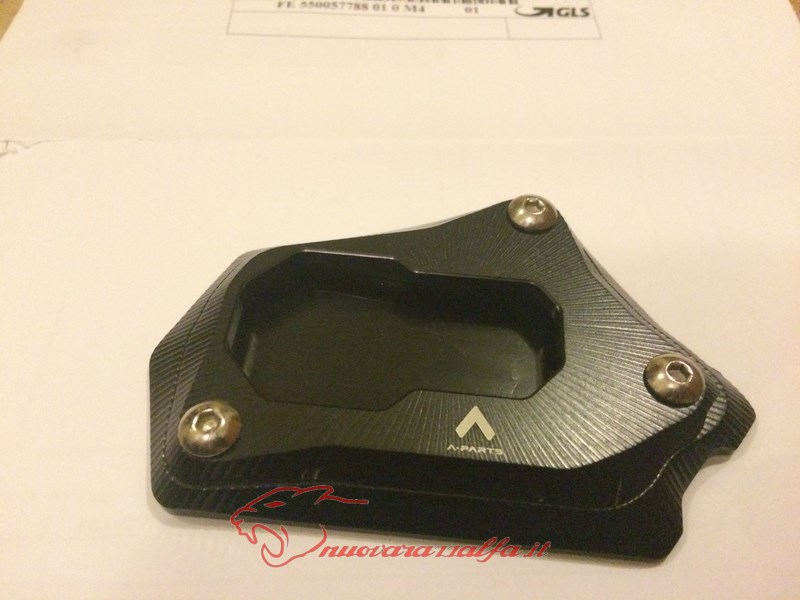 BMW K50 R1200GS LC estensione cavalletto laterale by Max450: Max45096