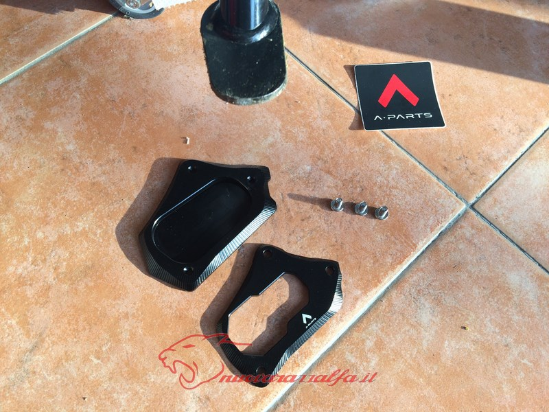 BMW K50 R1200GS LC estensione cavalletto laterale A Parts, by Max450. Max45107