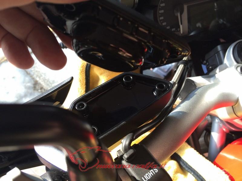 BMW K50 R1200GS LC tappi serbatoi fluidi al manubrio di A Parts by Max450 Max45117