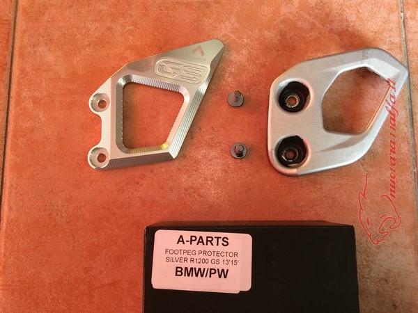 BMW K50 R1200GS LC sostituzione batti tacchi A Parts by Max450 Max45137