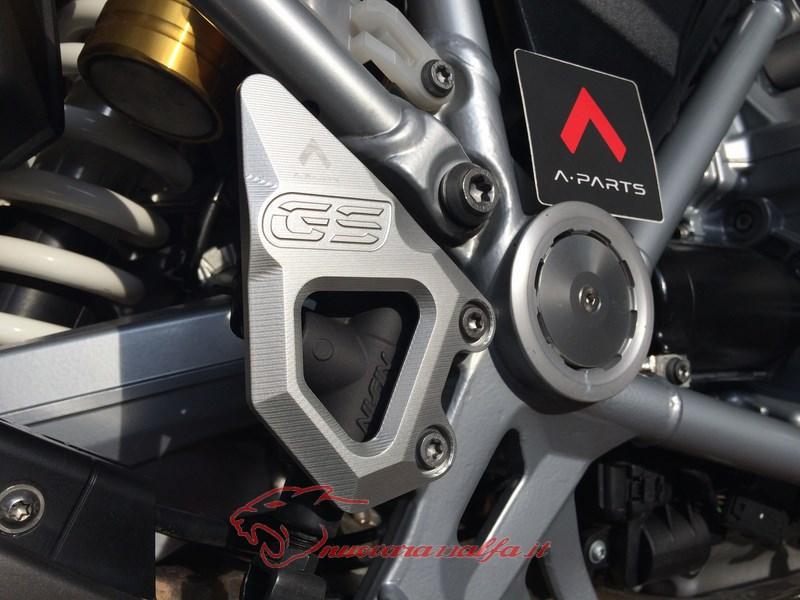 BMW K50 R1200GS LC sostituzione batti tacchi A Parts by Max450 Max45146