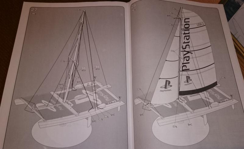 [HELLER] Maxi-Catamaran PlayStation 1/125 Dsc_0101