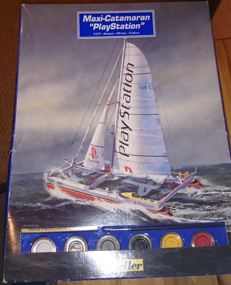 [HELLER] Maxi-Catamaran PlayStation 1/125 Dsc_0393