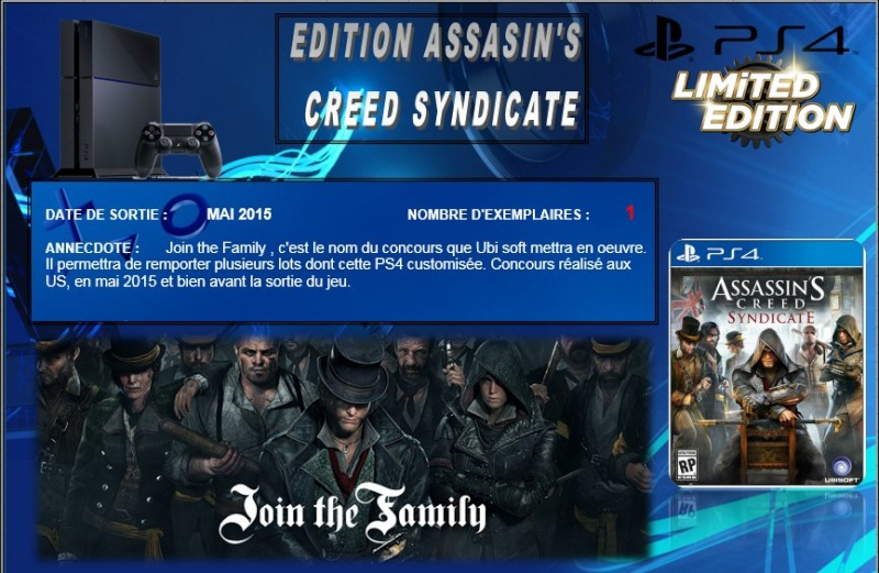 PLAYSTATION 4 : Edition ASSASSIN'S CREED SYNDICATE Assass10