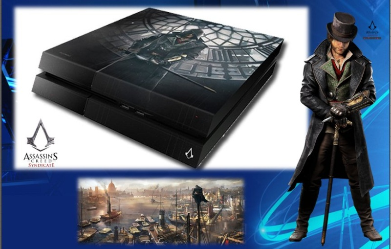 PLAYSTATION 4 : Edition ASSASSIN'S CREED SYNDICATE Assass12