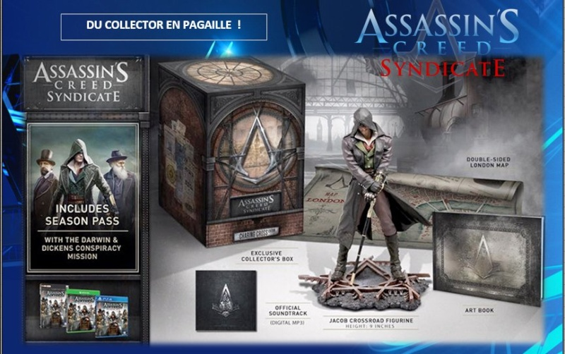 PLAYSTATION 4 : Edition ASSASSIN'S CREED SYNDICATE Assass14