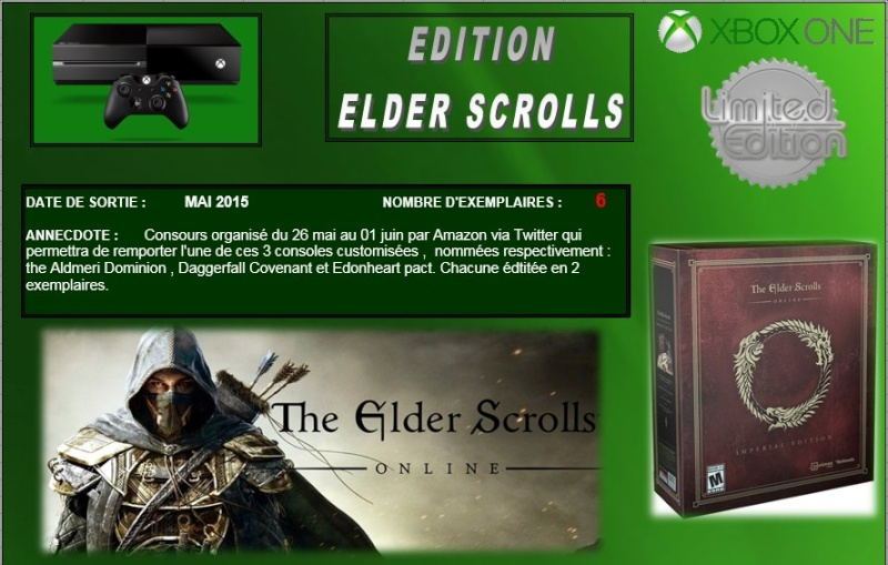 XBOX ONE : Edition THE ELDER SCROLLS Elder_10