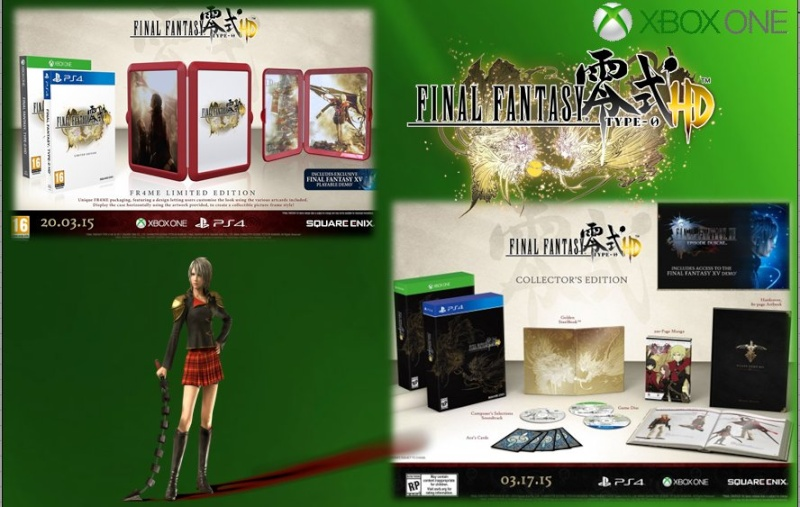 XBOX ONE : Edition FINAL FANTASY TYPE 0 Ff_typ13