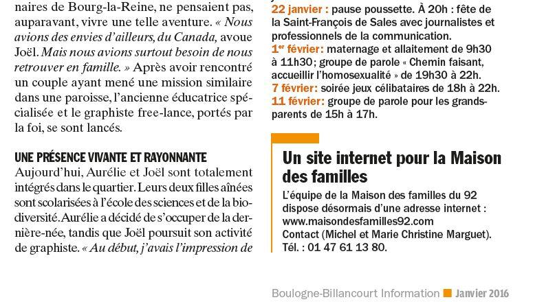 Evènements proposés par la Maison Saint François de Sales Clipbo81