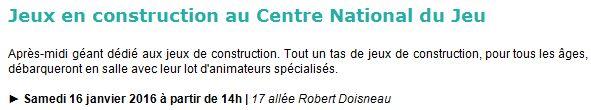 Centre Ludique de Boulogne-Billancourt (CLuBB) - Page 3 Clipbo83