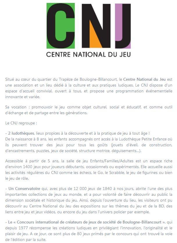 Centre Ludique de Boulogne-Billancourt (CLuBB) - Page 3 Clipbo84