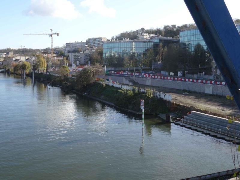 Péniches le long de la Seine Dsc03511