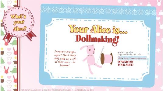 Votre Alice ... celons le test Mon_al10