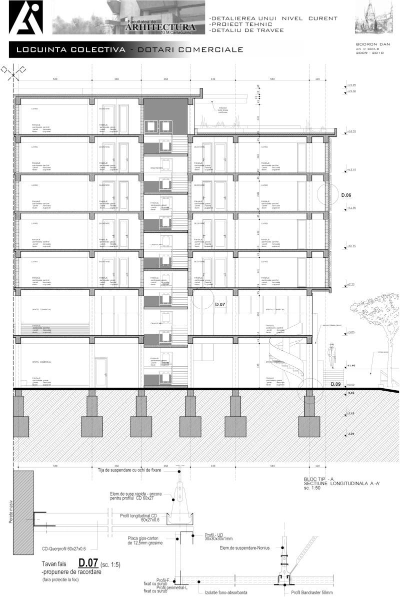 An III - Tema la Finisaje, Proiect Tehnic 4_sect10