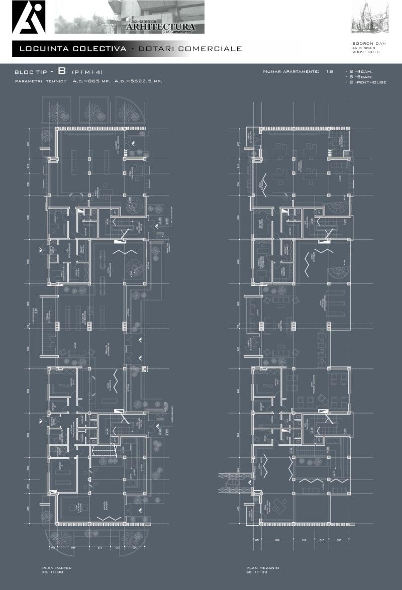 An III - Tema la Finisaje, Proiect Tehnic B_plan10
