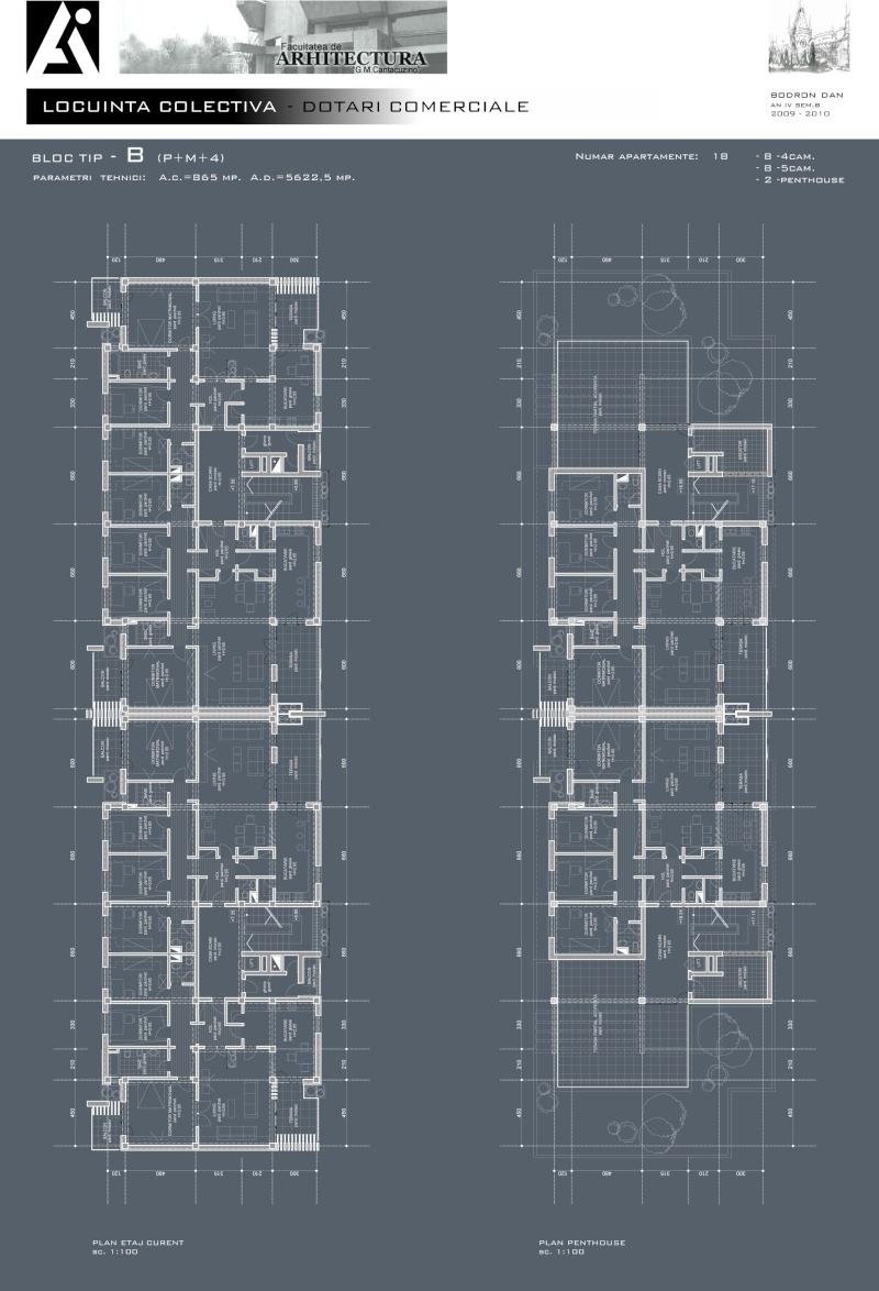 An III - Tema la Finisaje, Proiect Tehnic B_plan11