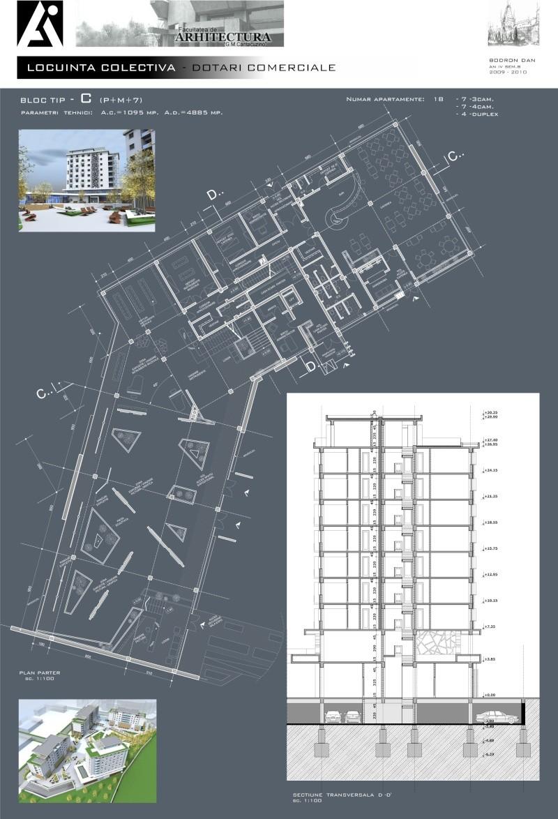An III - Tema la Finisaje, Proiect Tehnic C_plan11
