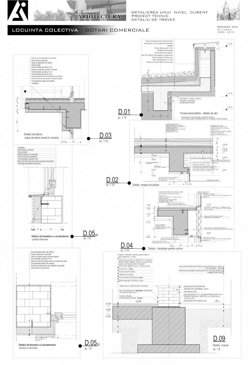An III - Tema la Finisaje, Proiect Tehnic Detali10