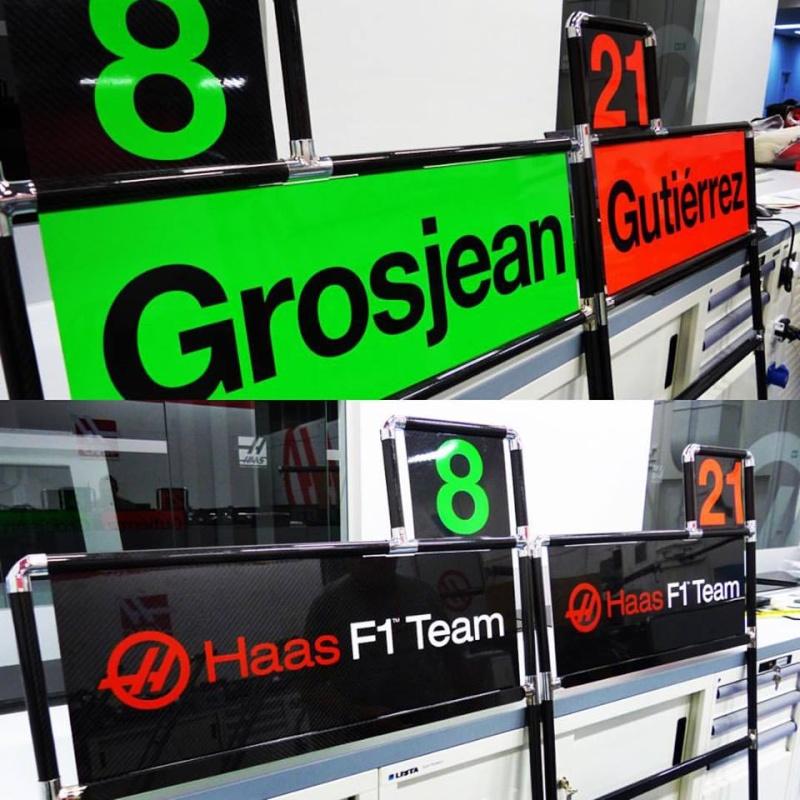 HAAS F1 Team Pit-bo11