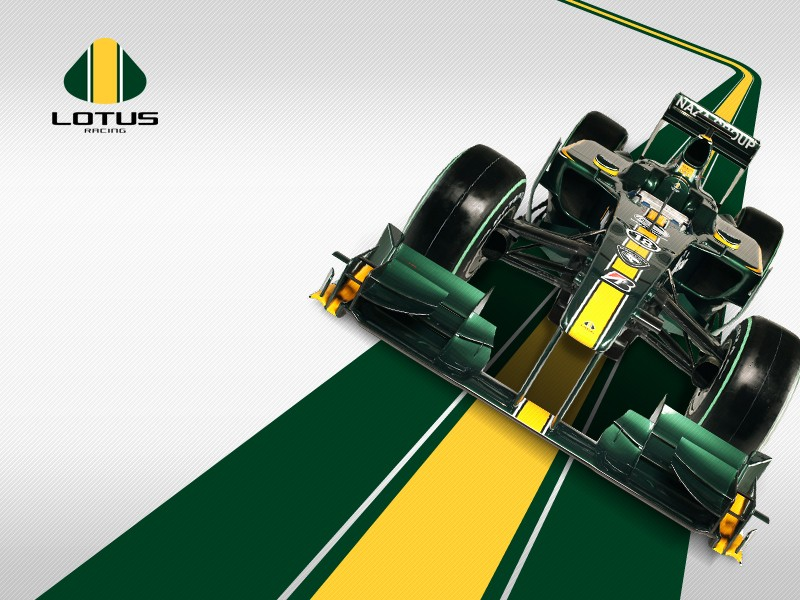 [F1] Lotus F1 Racing Wall8010