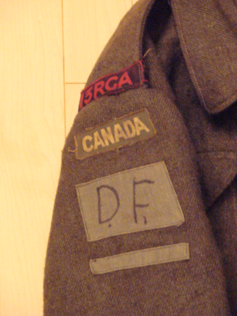 Latest Saskatchewan BD tunic to a D Day unit! 00212