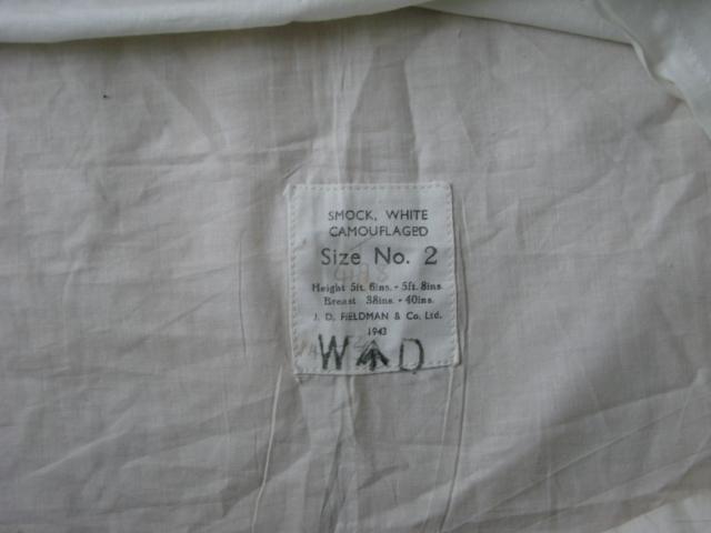 Mk II Winter White Camoflauge Cover 00510