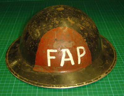 British First Aid Party Helmet Fap111