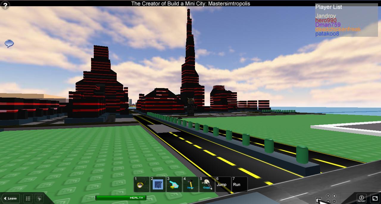 Improvised buildings: Vaktovia Roblox10